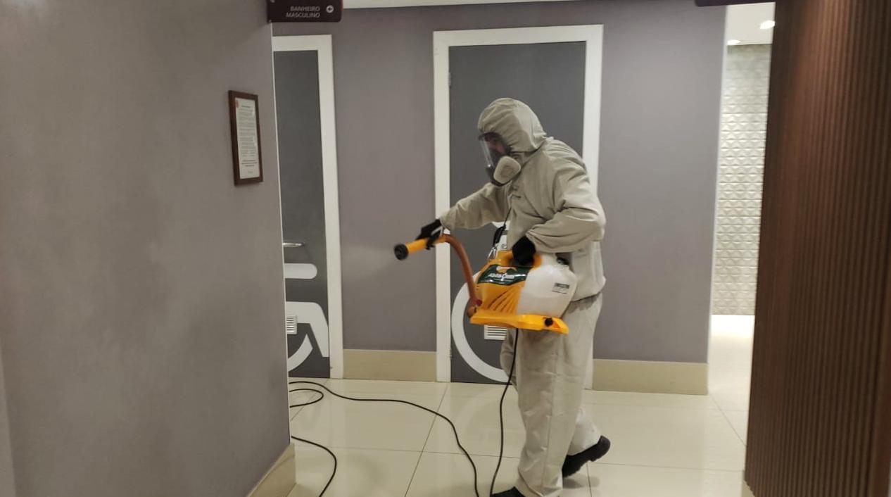 Sanitização de ambientes - Criciúma